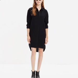 Madewell Moviehouse Black Shirtdress XXS